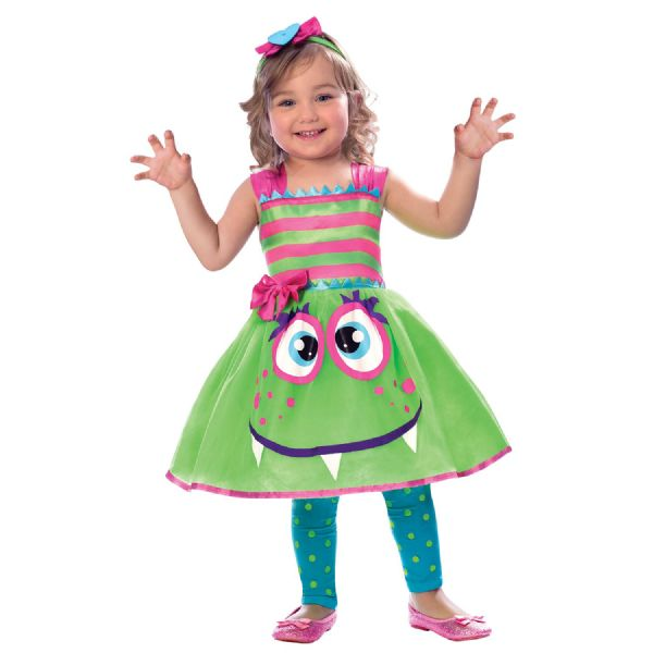 Cute Monster Costume Toddlers Fancy Dress Outfit